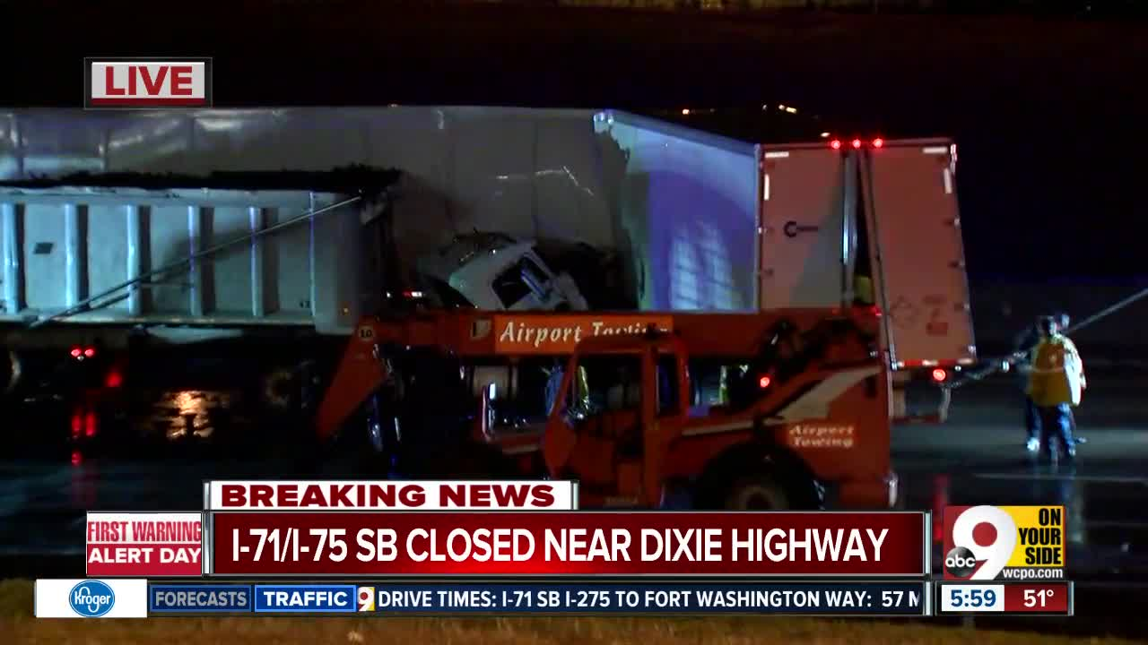 I-71/75 southbound at Kyles Lane reopened after semi crashed