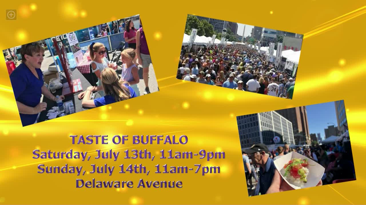 summer events in buffalo this week