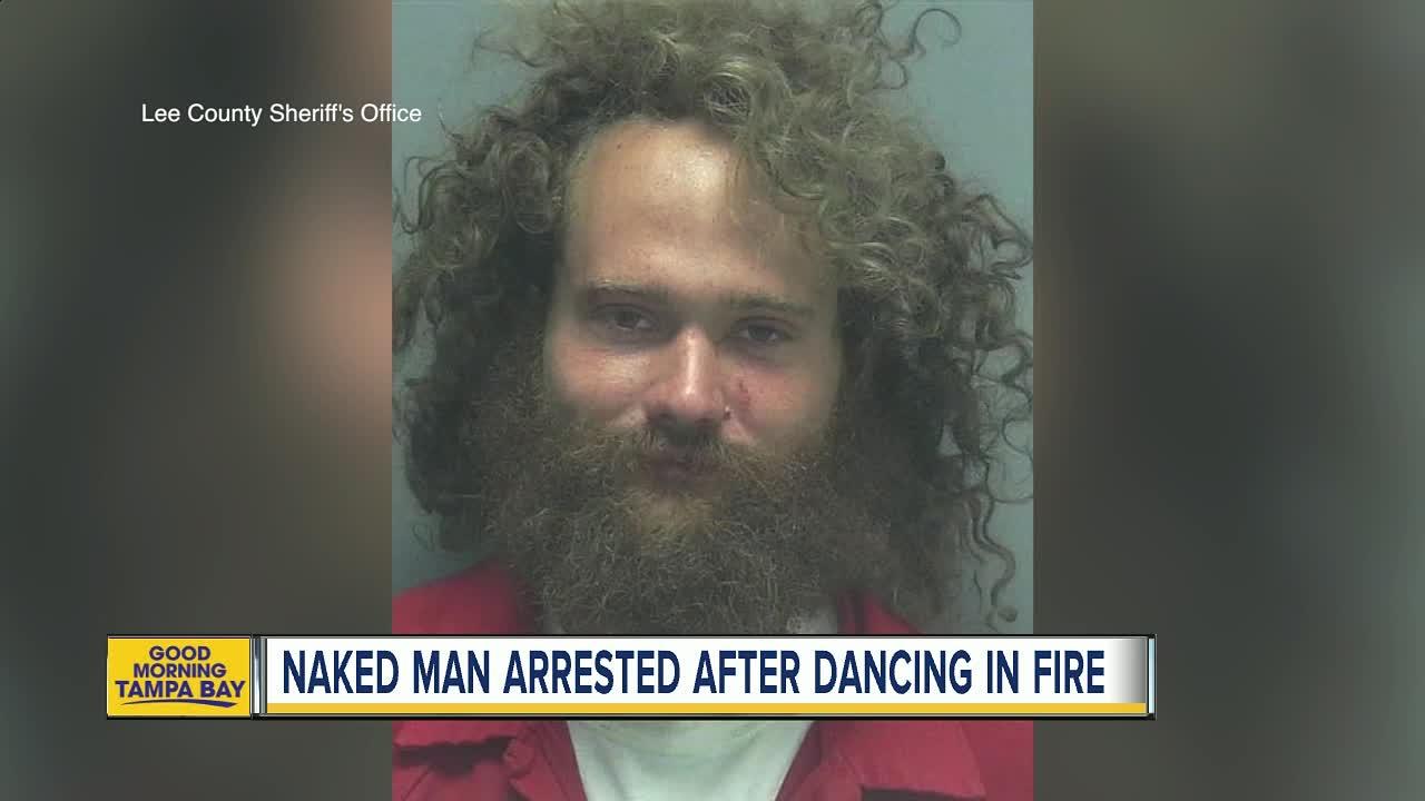 Man strips naked in front of children outside Dunkin