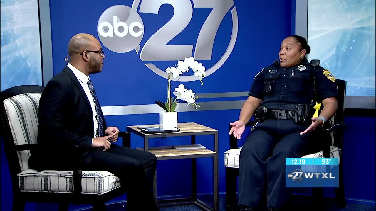 TPD speaks on Youth Citizens' Police Academy