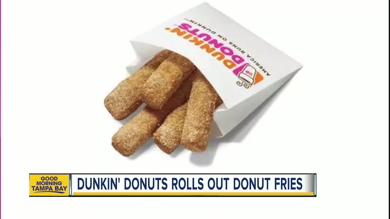 Dunkin\' Donuts selling Donut Fries across the nation beginning July ...