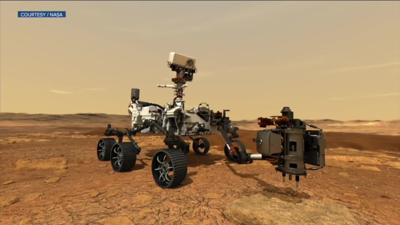 NASA Perseverance Rover sends back first images from Mars class=