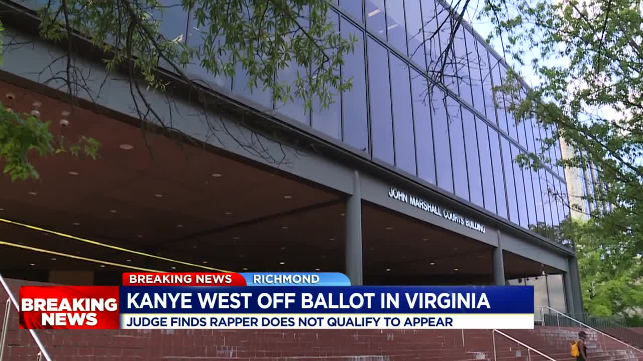 Kanye West barred from Arizona ballot