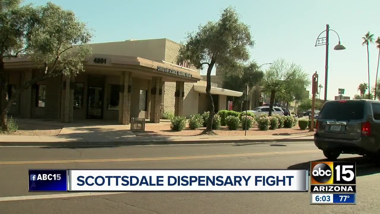Business Tables Marijuana Dispensary Plans In Scottsdale