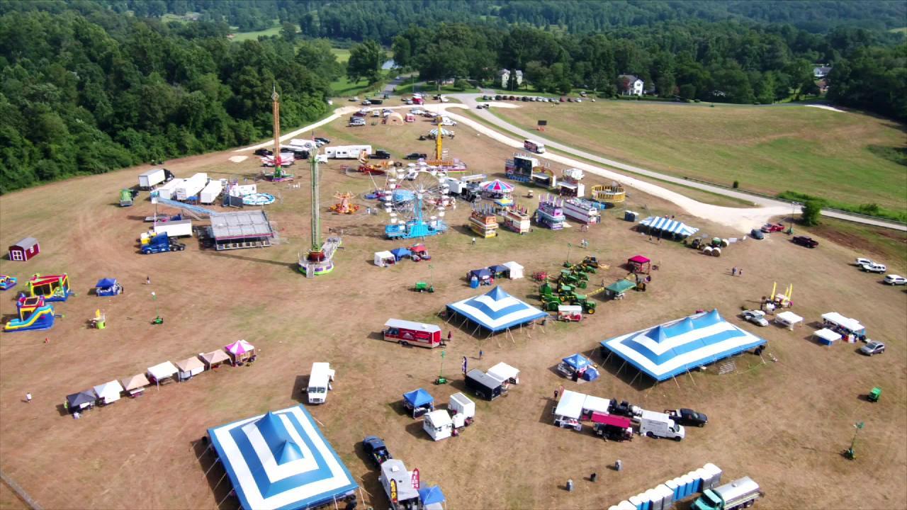 Sky 13 over Amherst Fair