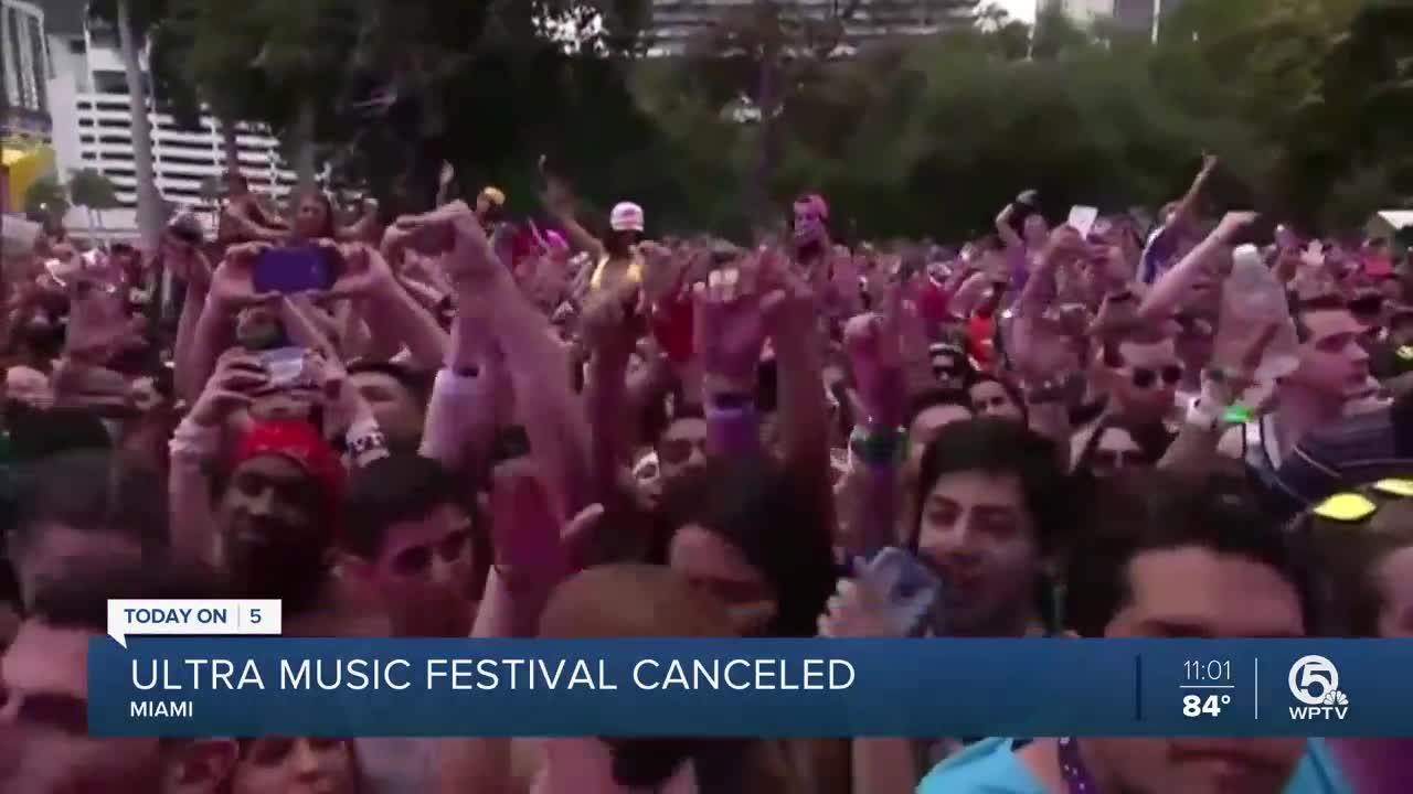 Amid Coronavirus Concerns, Ultra Music Festival is Postponed Indefinitely