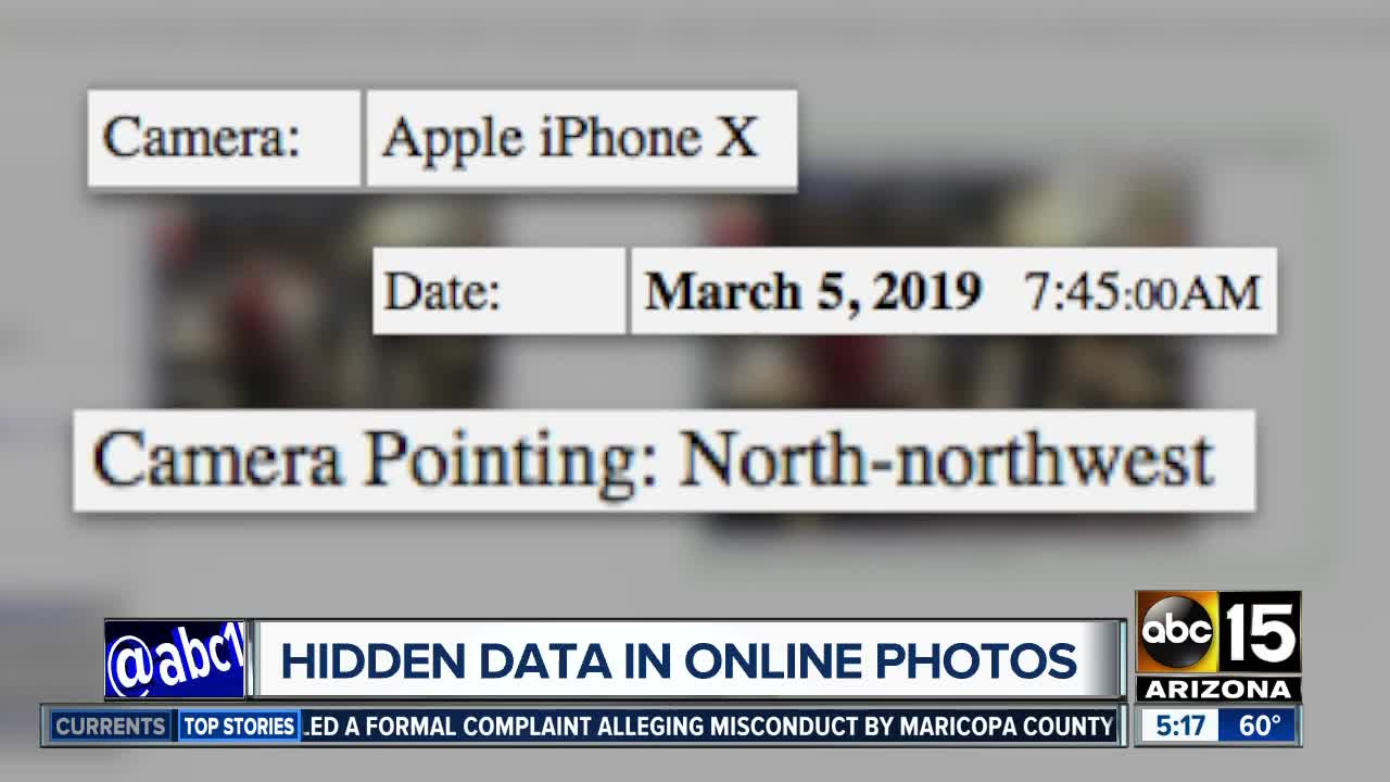 Photos Posted Online Could Have Hidden Metadata That Could Put You