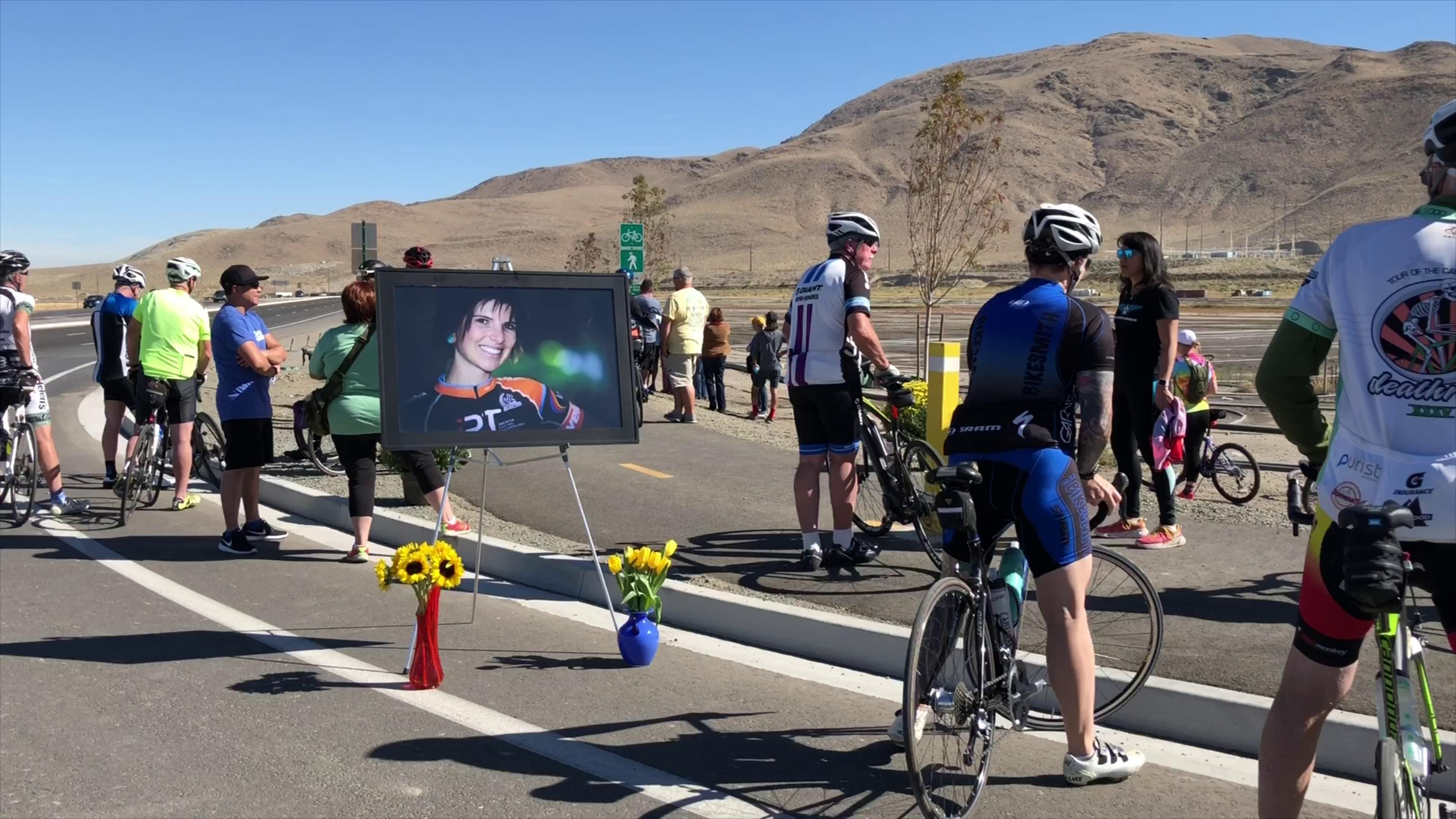 RTC Washoe dedicates Erica Grief Bikeway