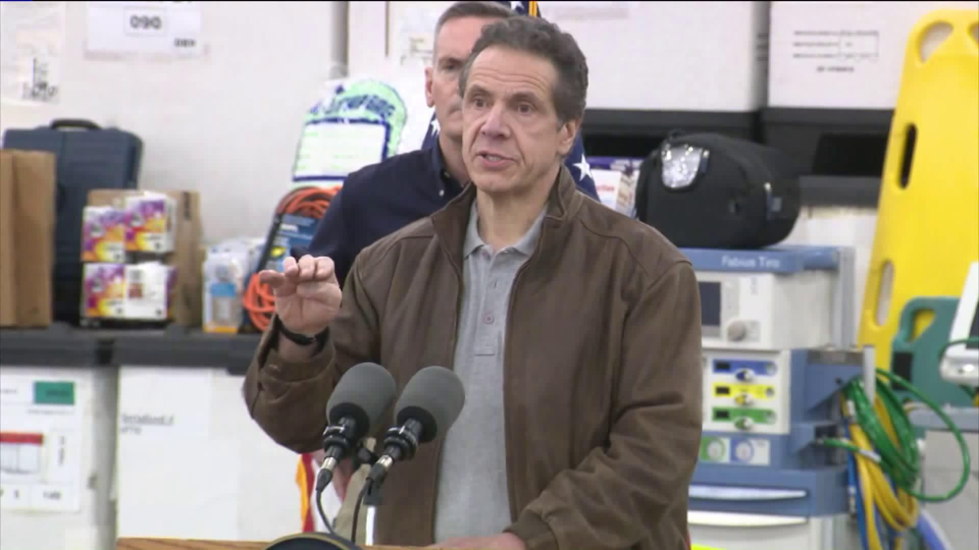 Coronavirus: New York Confirms More Than 20,000 Cases, Cuomo Says