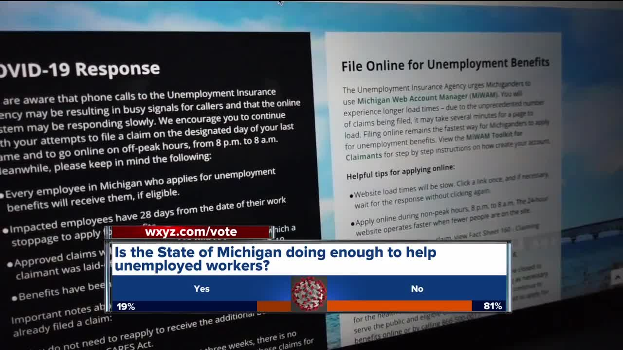 Is the state doing enough to help unemployed workers?