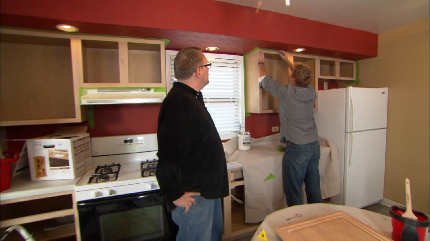 How To Paint Kitchen Cabinets Without Sanding This Old House