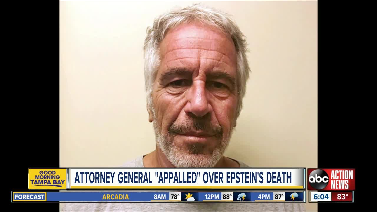 Barr On Epstein's Death: 'Co-Conspirators Should Not Rest Easy'