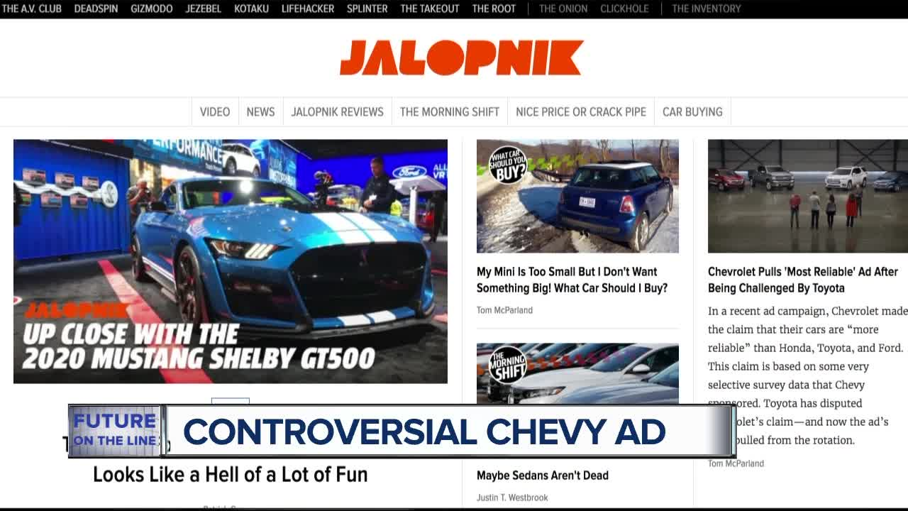 Chevrolet 'Real People' reliability ad pulled after claims challenged