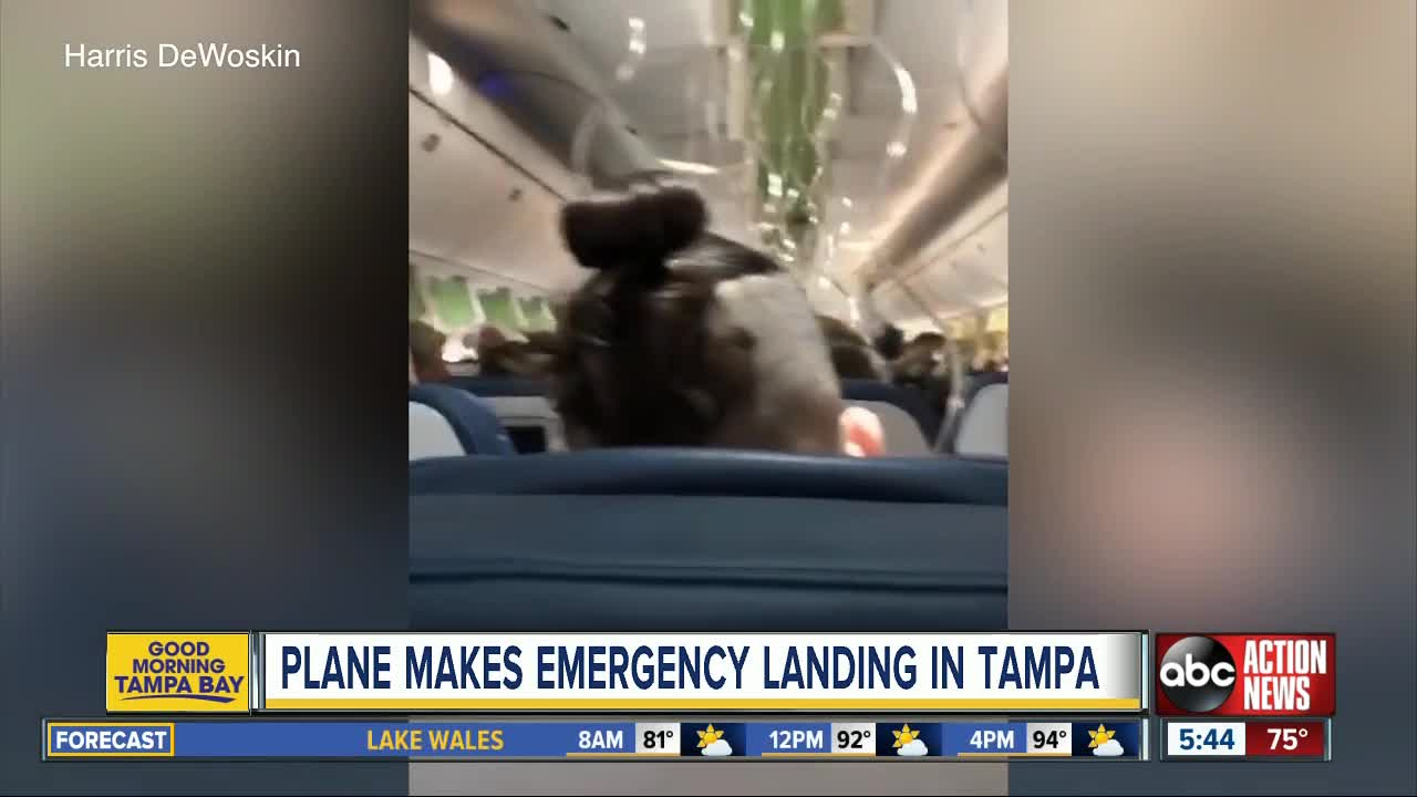 Flight makes emergency landing after issue with cabin pressure