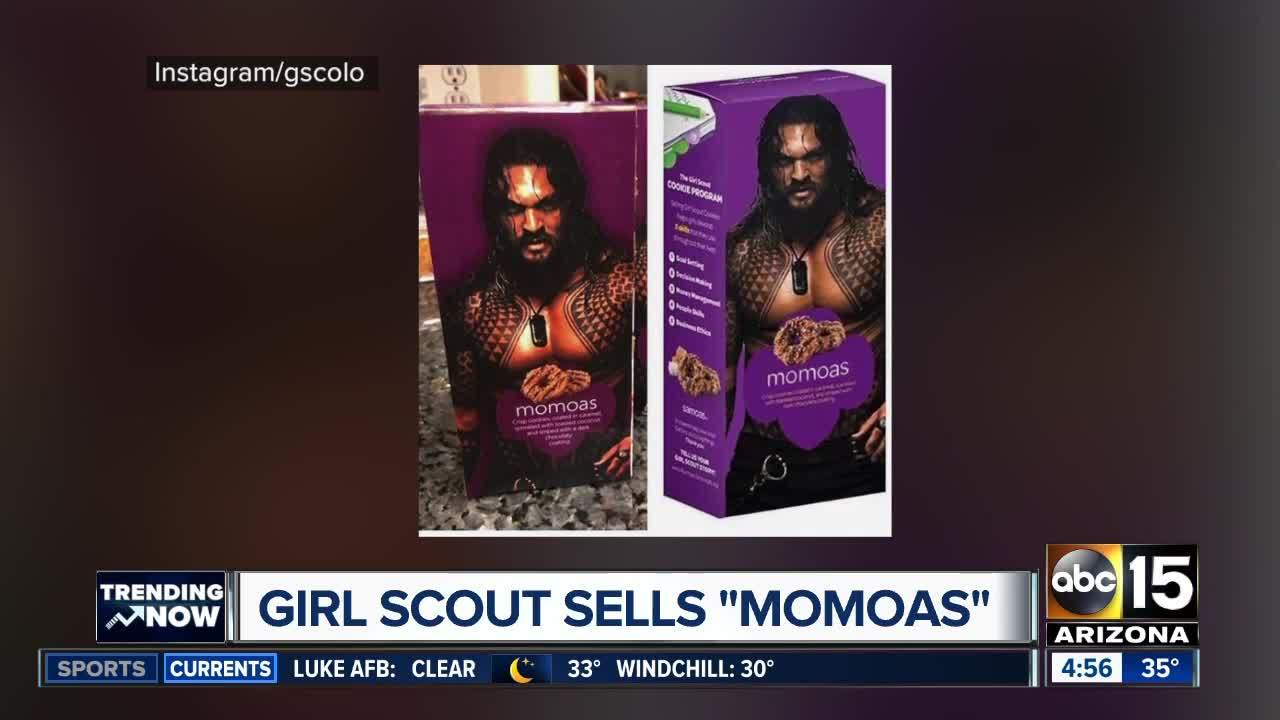Jason Momoa Samoas Lead To Big Cookie Sales For Colorado Girl Scout