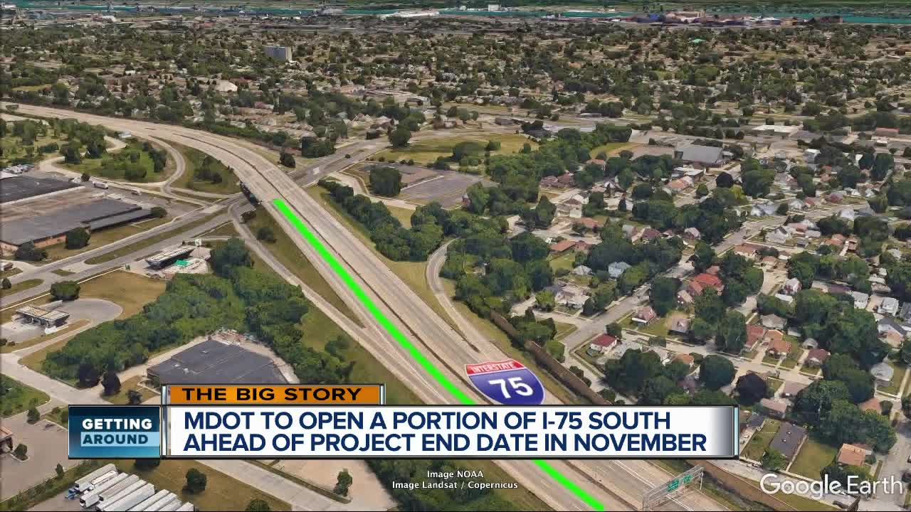Stretch of I-75 near Rouge River bridge opens to traffic for