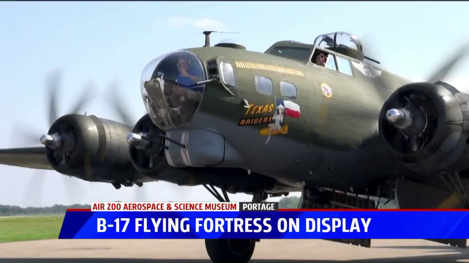 Fans Flock To Air Zoo To See Legendary B17 Flying Fortress Flown