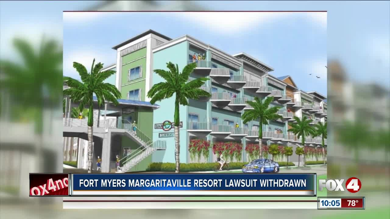 Lawsuits over planned Margaritaville Resort in Fort Myers