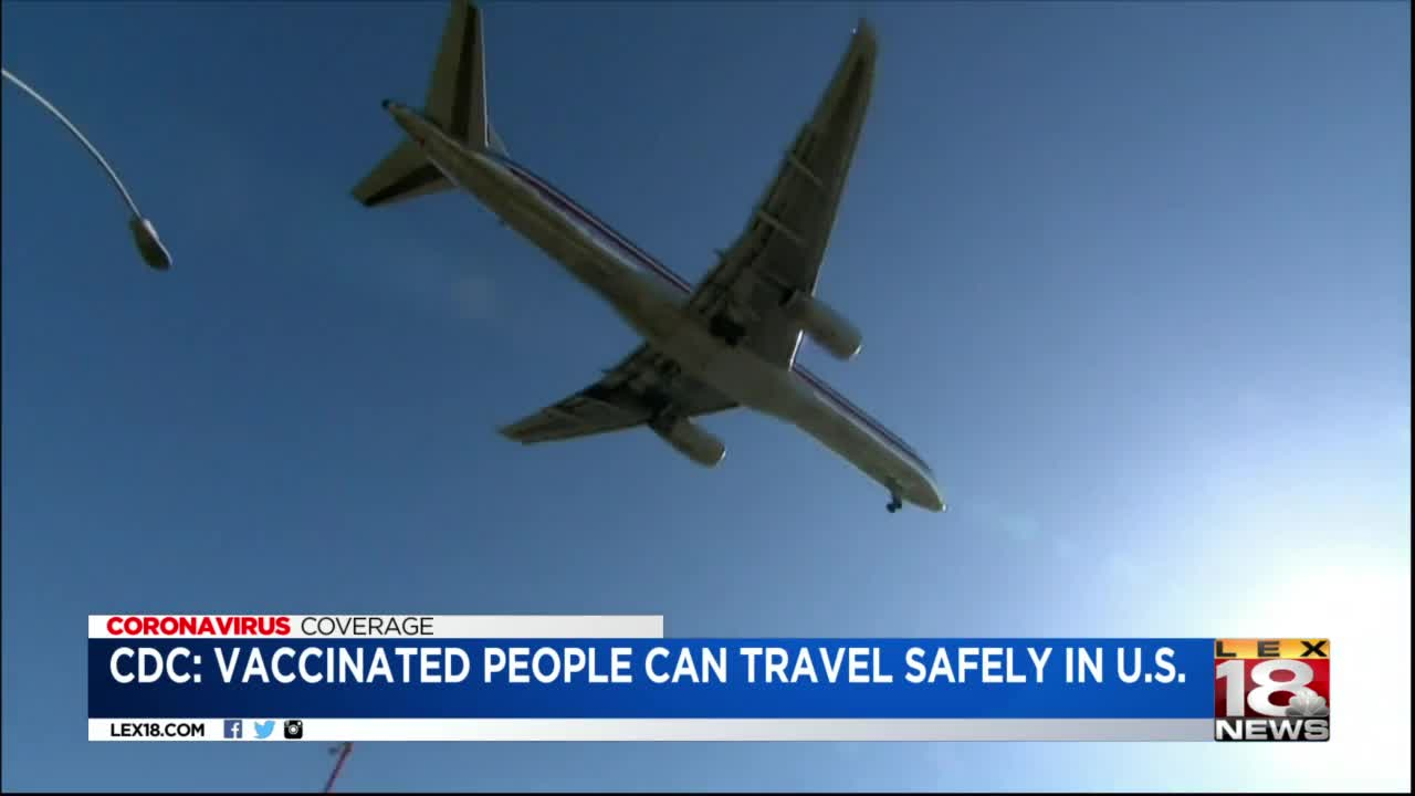 CDC says low travel risk for fully vaccinated