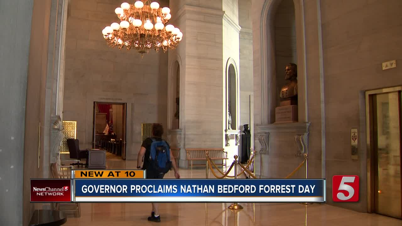 Tenn  governors must sign Nathan Bedford Forrest Day proclamation