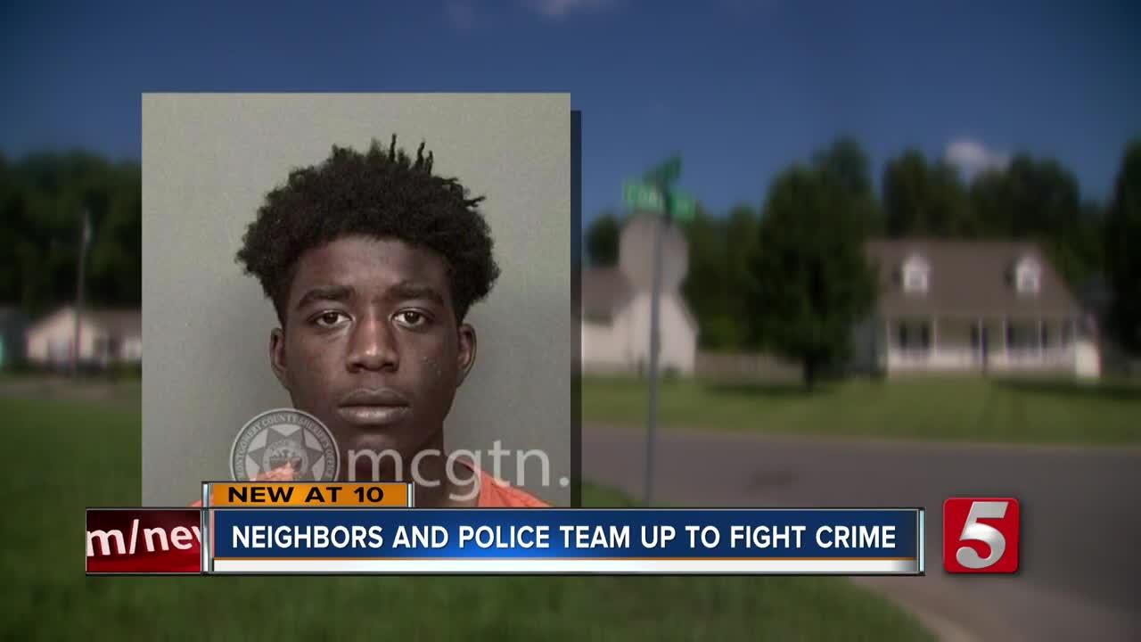 Clarksville teen helps police catch suspected car burglar