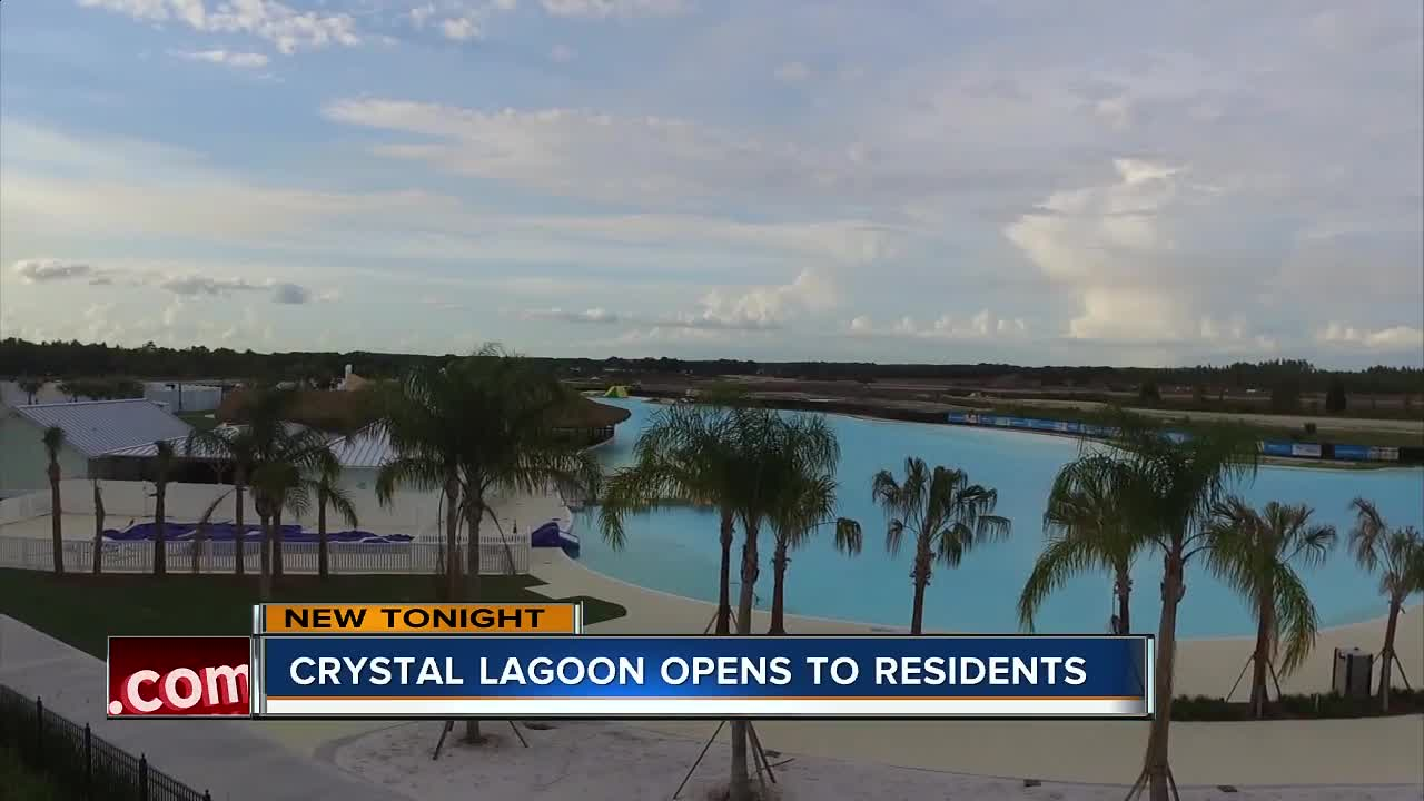 Wesley Chapel's Crystal Lagoon officially opens
