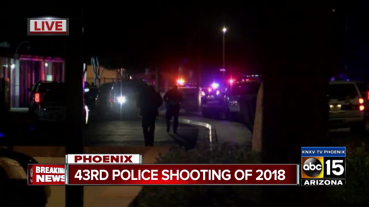 Phoenix police involved in shooting near 36th Street and Oak