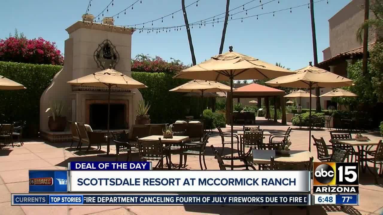 DEAL OF THE DAY: Pay $79 At The Scottsdale Resort At McCormick Ranch And  Get Spa Credit!   ABC15 Arizona