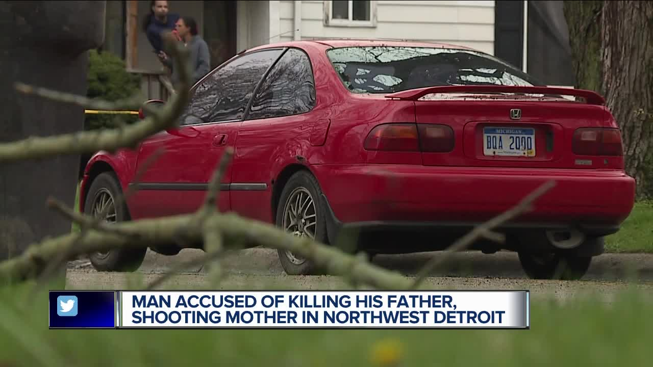 Detroit man allegedly killed dad, shot mom believing they