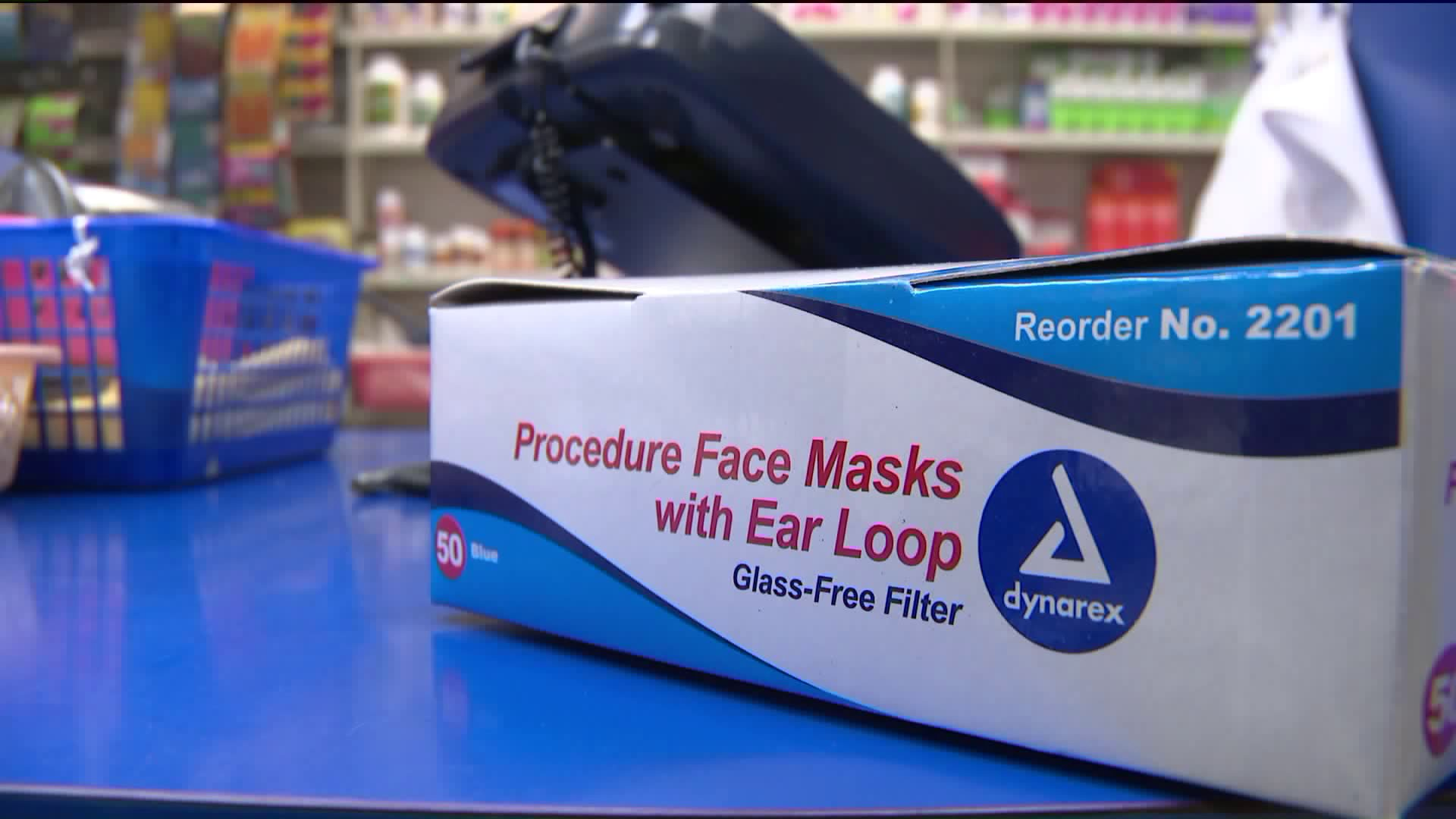 dynarex 2201 medical surgical face masks