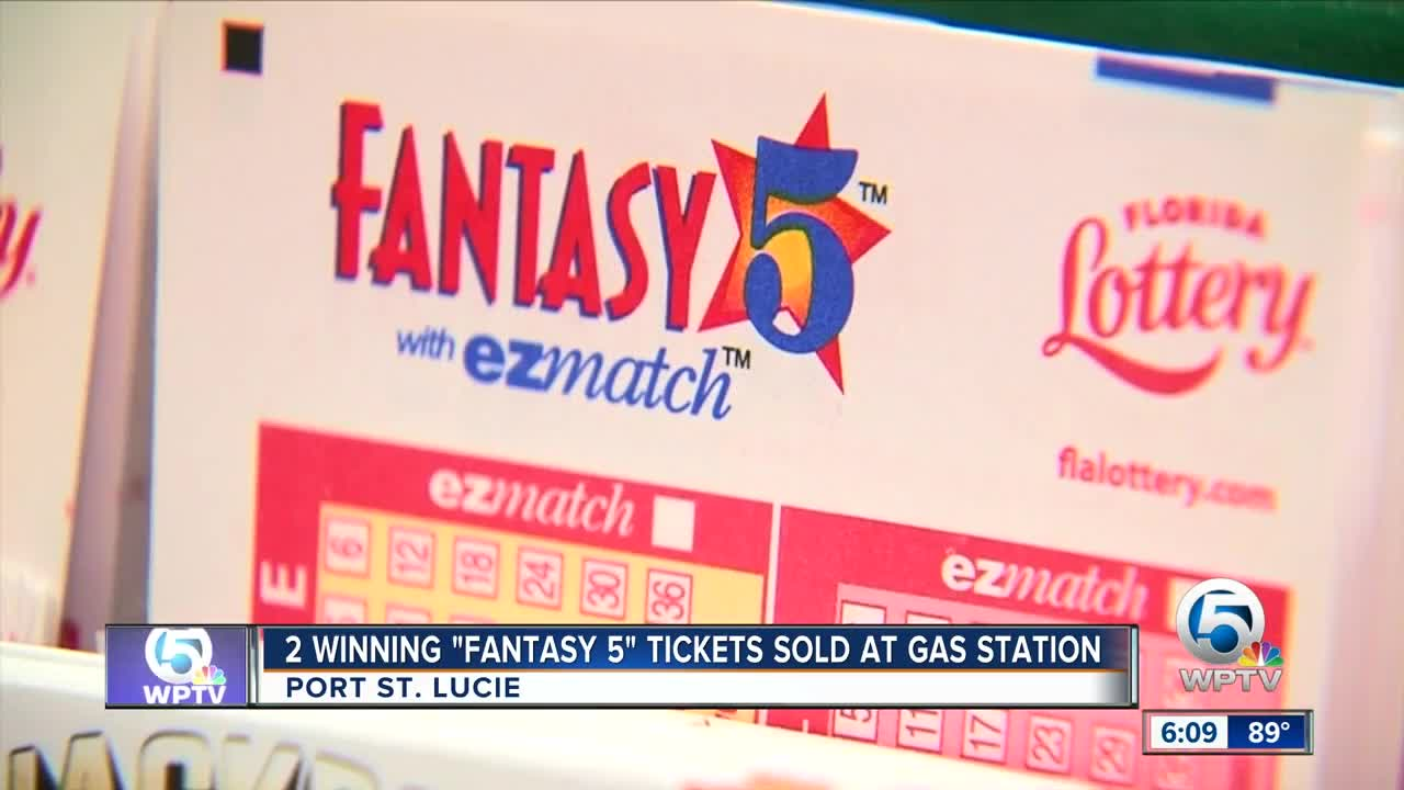 2 Winning Fantasy 5 Tickets Sold At Port St Lucie Gas Station Florida Lottery Says