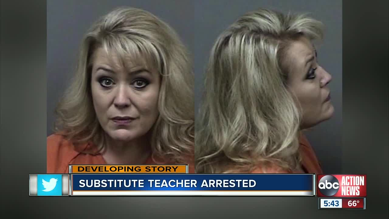 Citrus County substitute teacher arrested for lewd battery