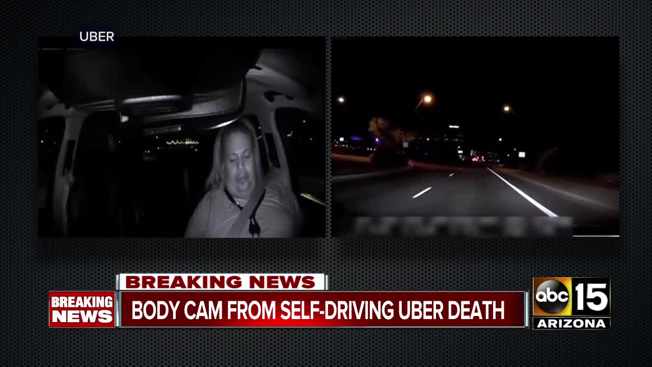 backup driver in deadly self-driving uber crash could face charges