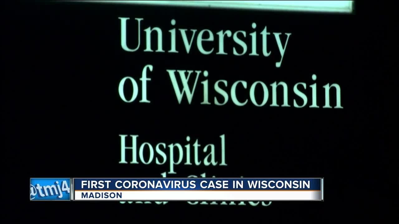 First coronavirus case in Wisconsin confirmed
