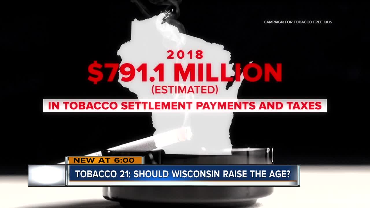Illinois pushes smoking age to 21, should Wisconsin do the same?