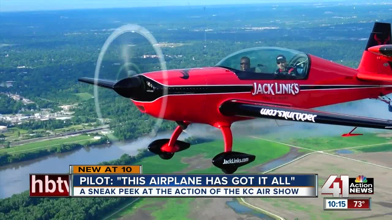 Planes arrive in town for 2019 Kansas City Air Show, Kevin