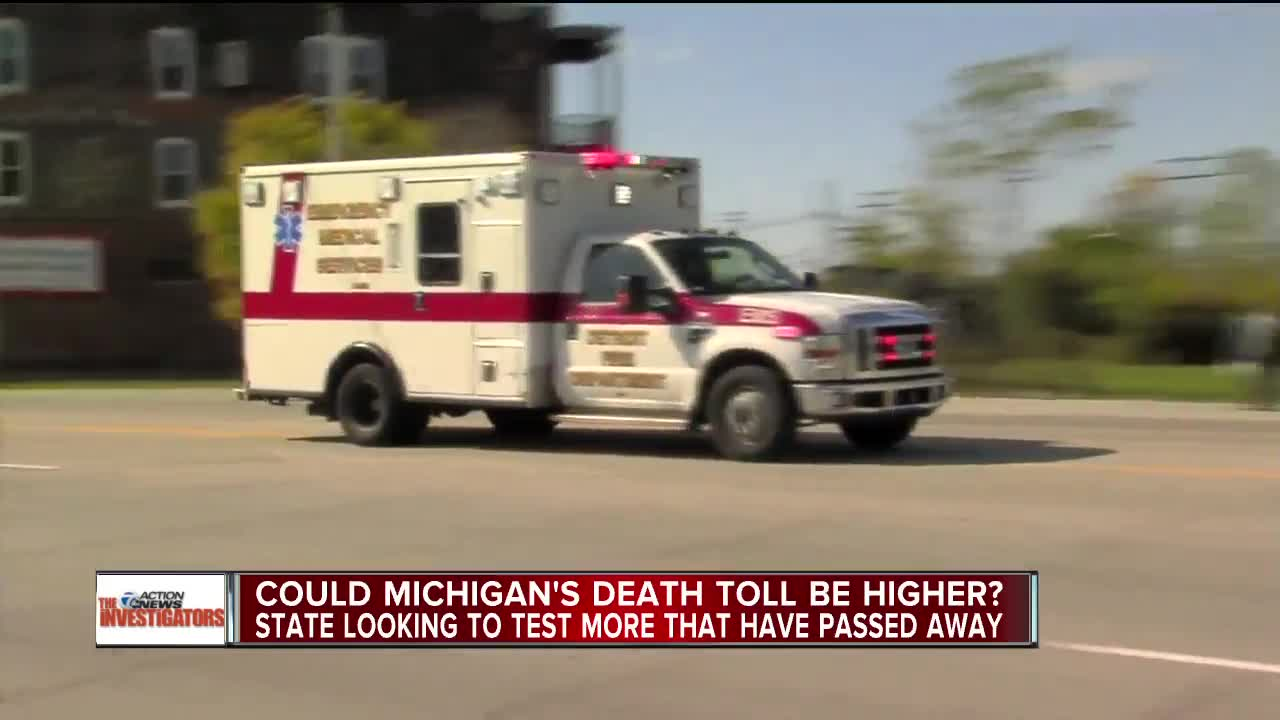 Daily Michigan coronavirus deaths at lowest level since early April