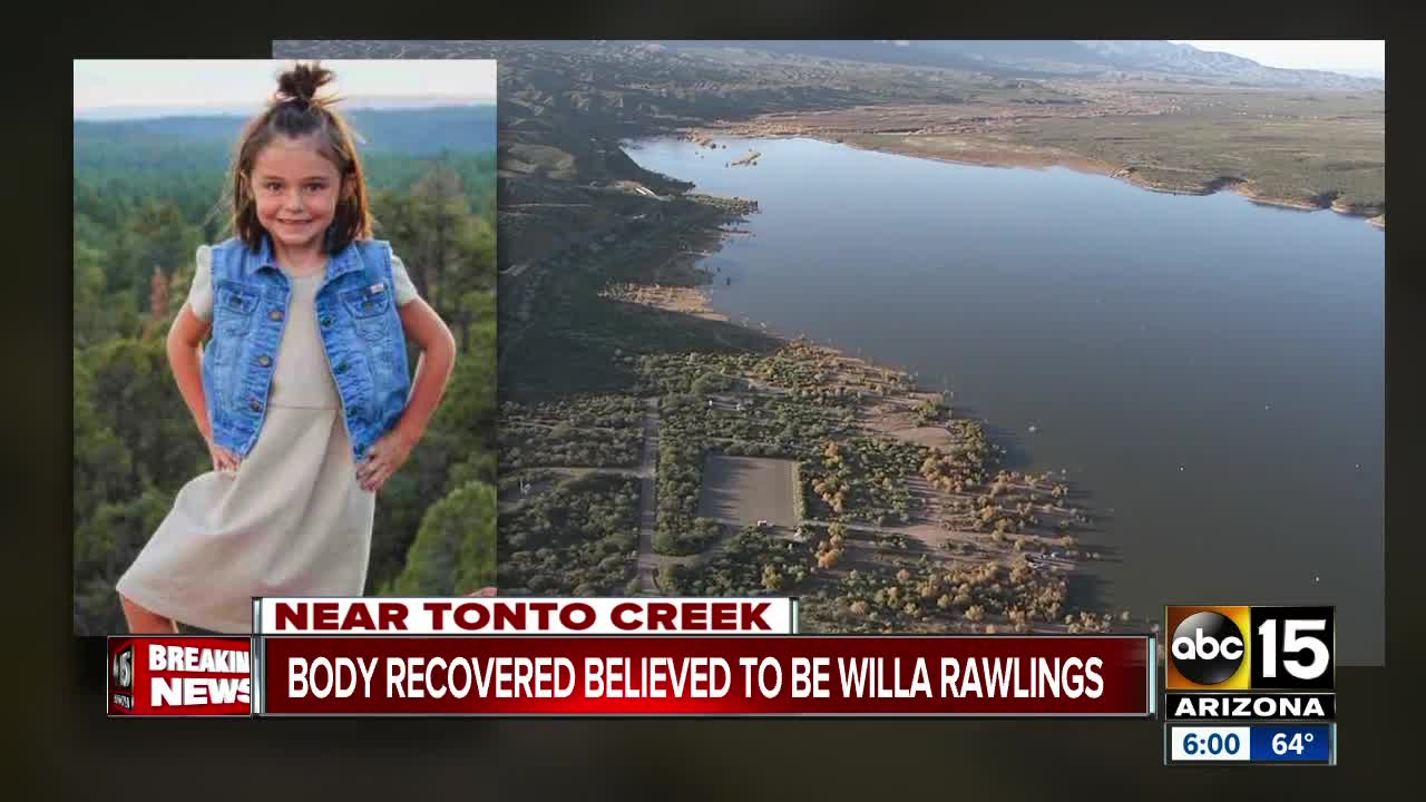 Body of 6-year-old girl swept away in storm found