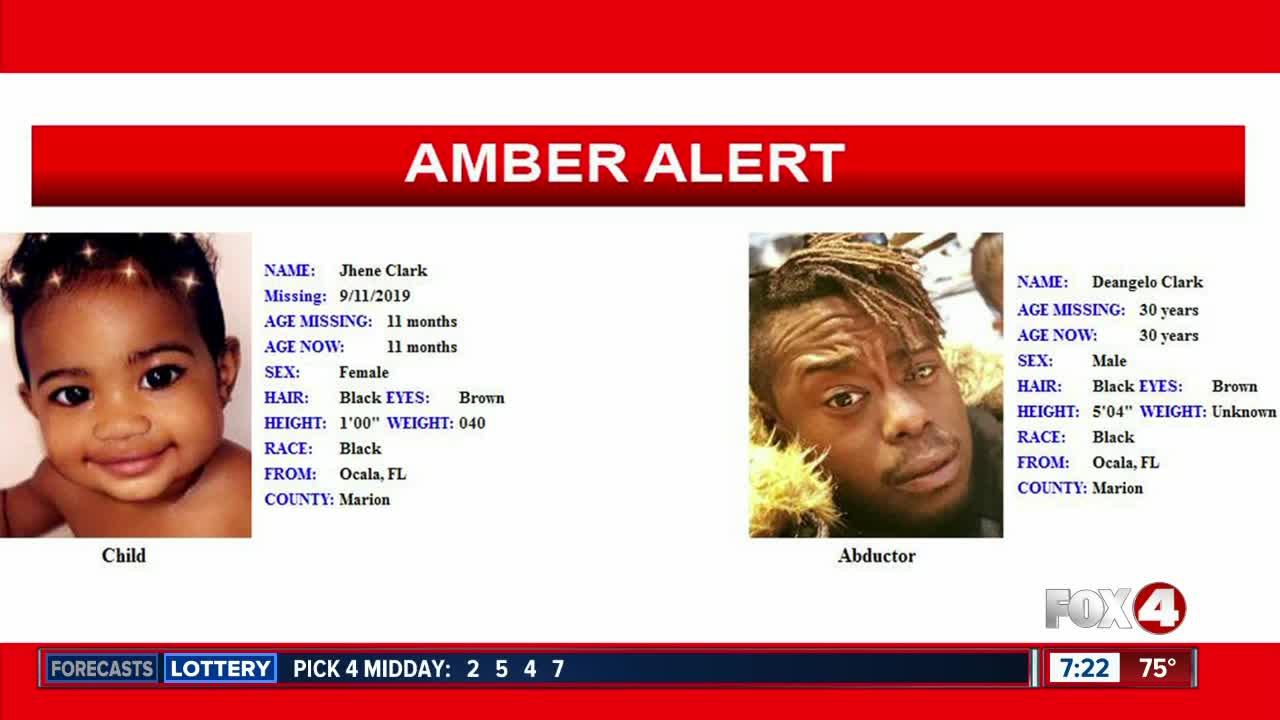 Amber Alert canceled for Ocala toddler