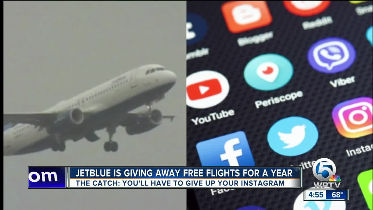 JetBlue contest offers chance at free flights for a year