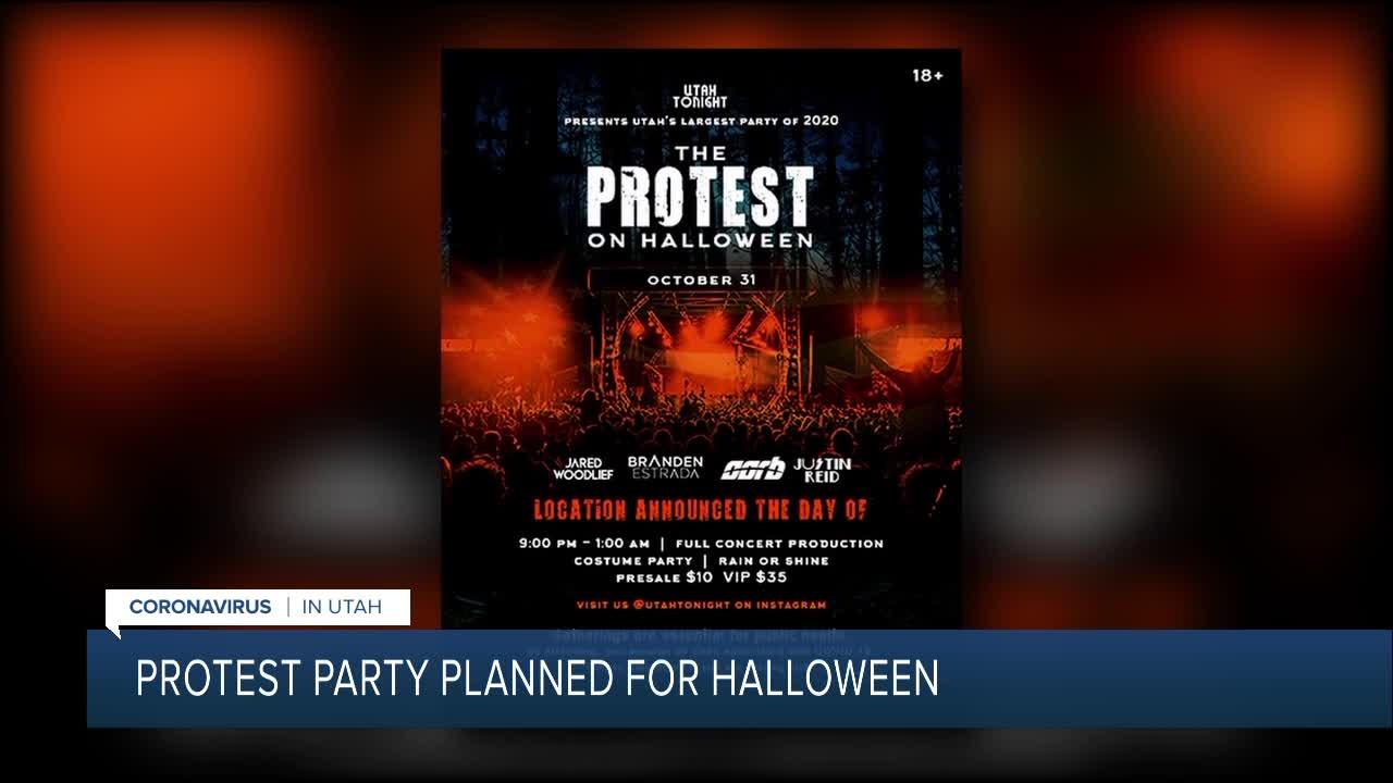 Halloween 2020 Utah Group throwing 'Utah's largest party of 2020' calls it 'The