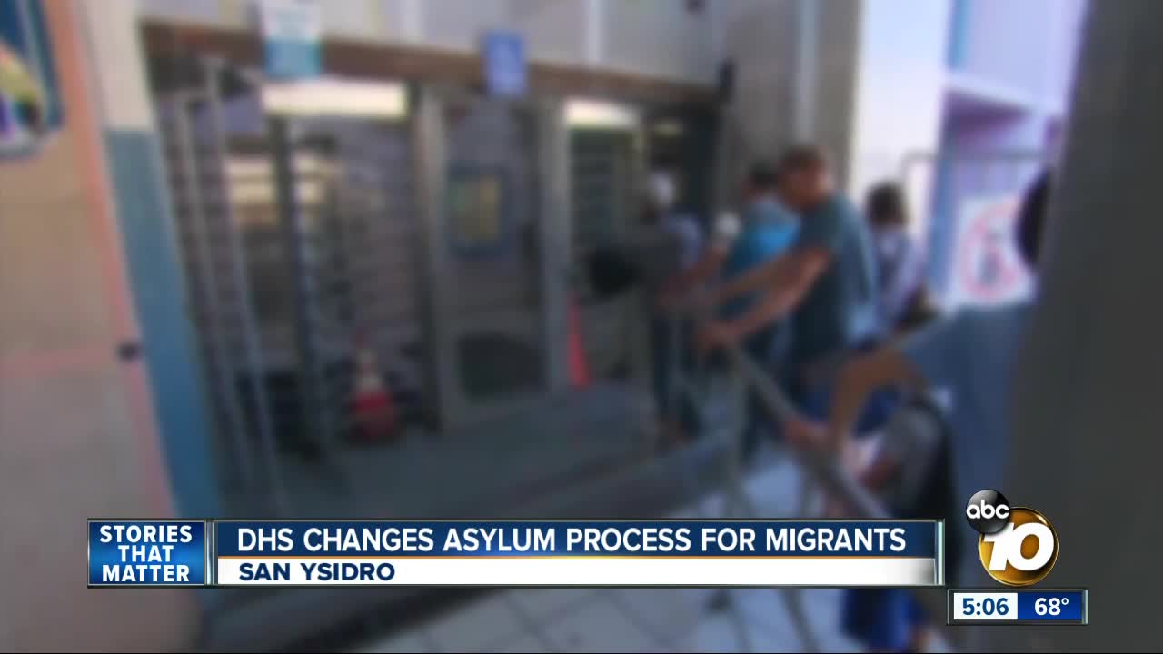 Mexico won't accept minors awaiting USA  asylum claims