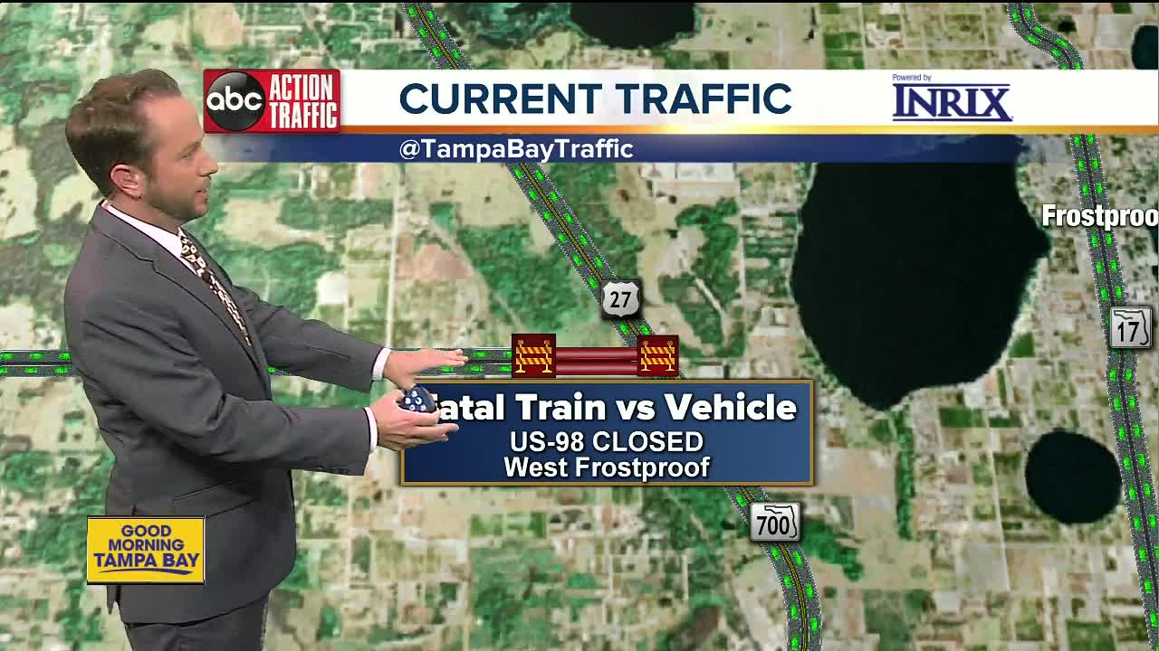 Frostproof Florida Map.2 Dead After Driving Vehicle Into 27th Car Of Csx Train In Polk County