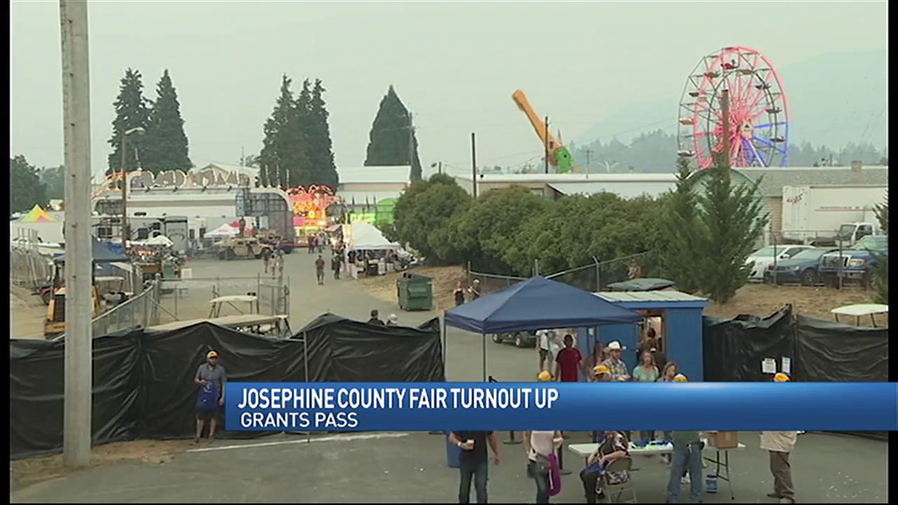 Josephine County fair sees a surprising turnout in a smokey summer