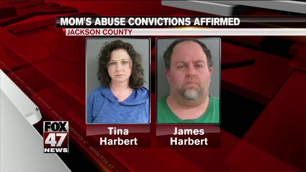 Michigan Appeals Court affirms conviction of Tina Harbert