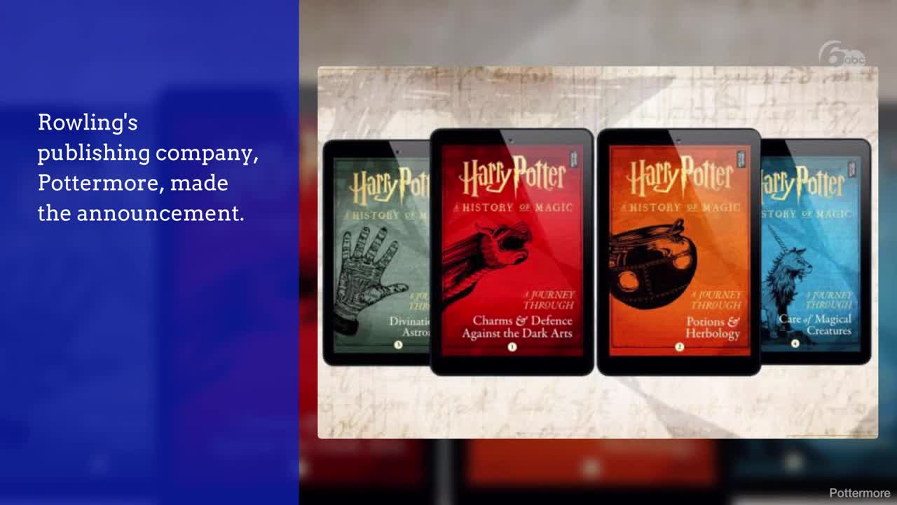 JK Rowling: Harry Potter author to release four new magical books!