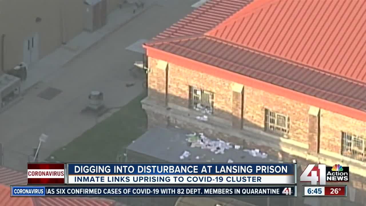 Lansing Correctional Facility inmates riot