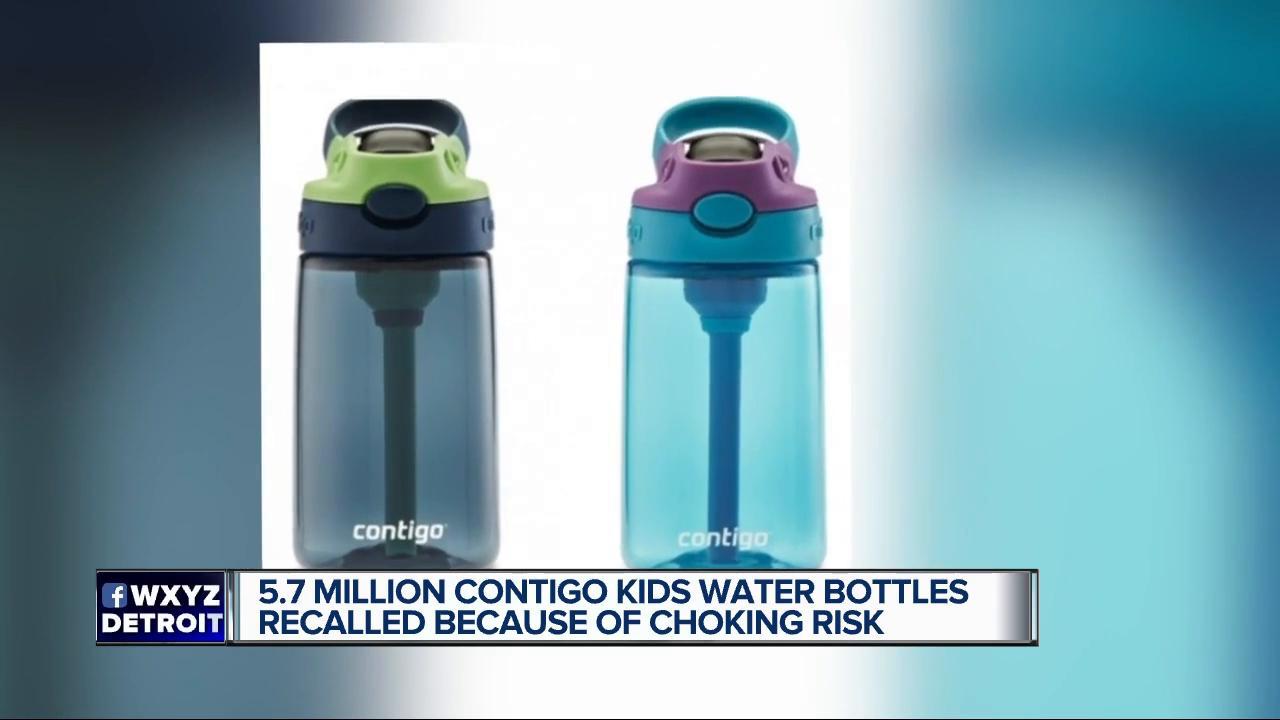 Contigo recalls millions of kids water bottles due to choking hazard