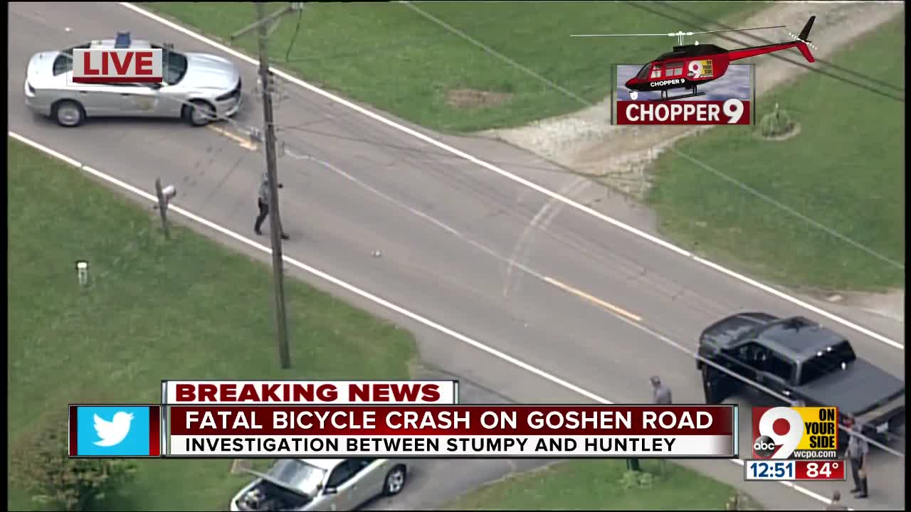Preacher riding bike killed in collision with pickup truck in Goshen