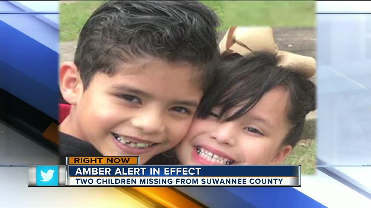 Amber Alert canceled for two Florida children, case resolved